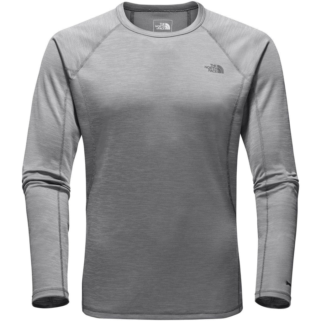 78d2466cf The North Face Thermal Baselayer Long Sleeve Warm Tee-Zinc-Grey Heather