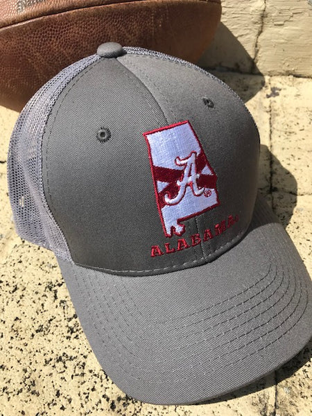 Tuskwear Collegiate Pride state Trucker Hat displays your love for Alabama. Shop Bennetts Clothing for your Alabama gameday gear and receive same day shipping