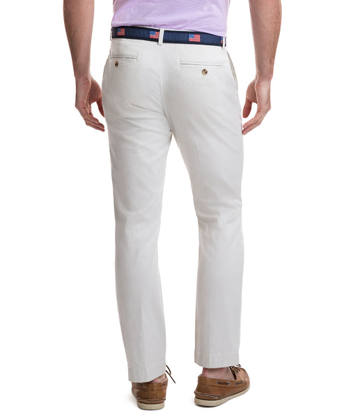 Vineyard Vines Mens Stretch Breaker Pants-Stone