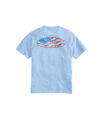 Vineyard Vines USA Surf Logo T-shirt shows you you have style and the surfer swag with it. Shop Bennetts Clothing for a large selection of the latest fashions from Vineyard Vines