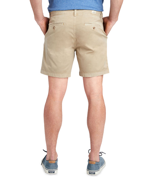 "Vineyard Vines Mens 7"" Island Short-Khaki"