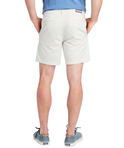 "Vineyard Vines Mens 7"" Island Short-Stone"