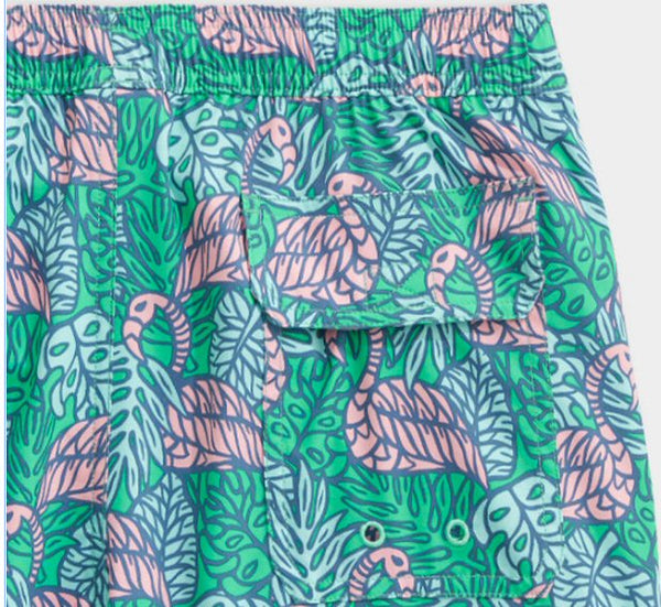 Vineyard Vines Printed Chappy Swim Trunks-Antigua