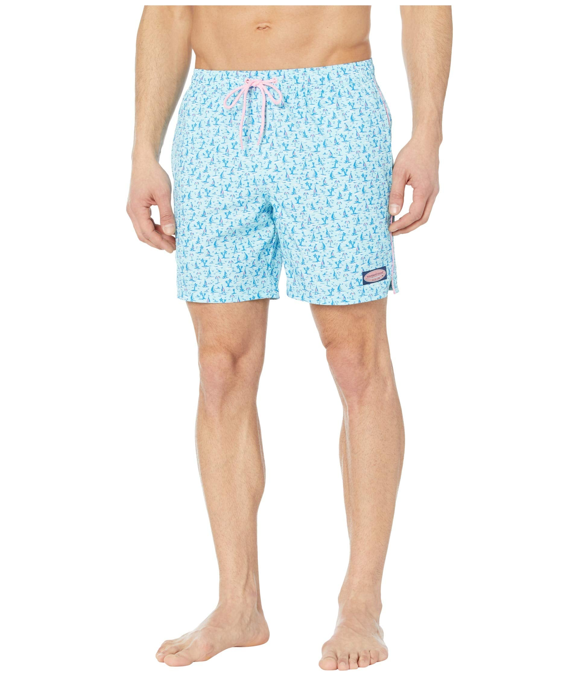 """Vineyard Vines 7"""" Printed Chappy Trunk is a Summer essential short for men. Shop Bennetts Clothing for a large selection of the latest men's fashions from Vineyard Vines."""