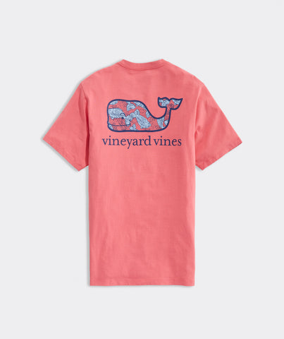 Vineyard Vines Fish Whale Fill Pocket Tee has easy on-the-go looks wherever you go. Shop Bennetts Clothing for a large selection of the latest fashions from Vineyard Vines