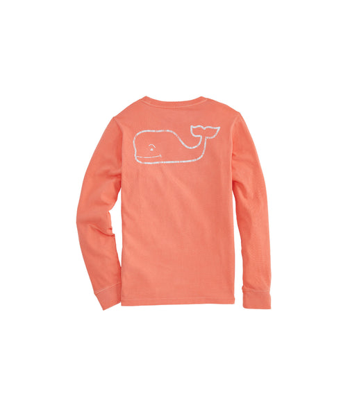 Vineyard Vines kid's Vintage Whale pocket tee has preppy style with comfort. Shop Bennett's for the brands you want with prices you will love.