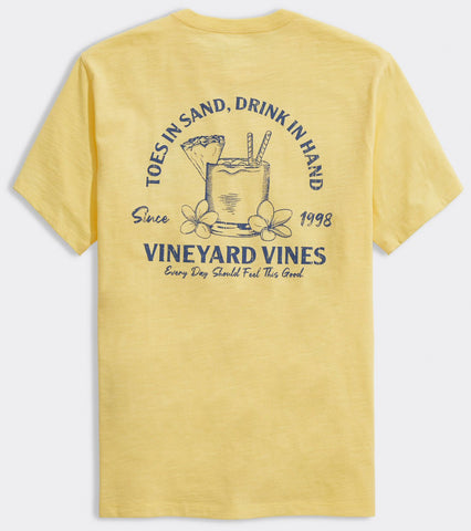 Vineyard Vines Toes In The Sand Slub t-shirt looks and feels amazing. Shop Bennett's for the brands you want, shipped same day to your front door.