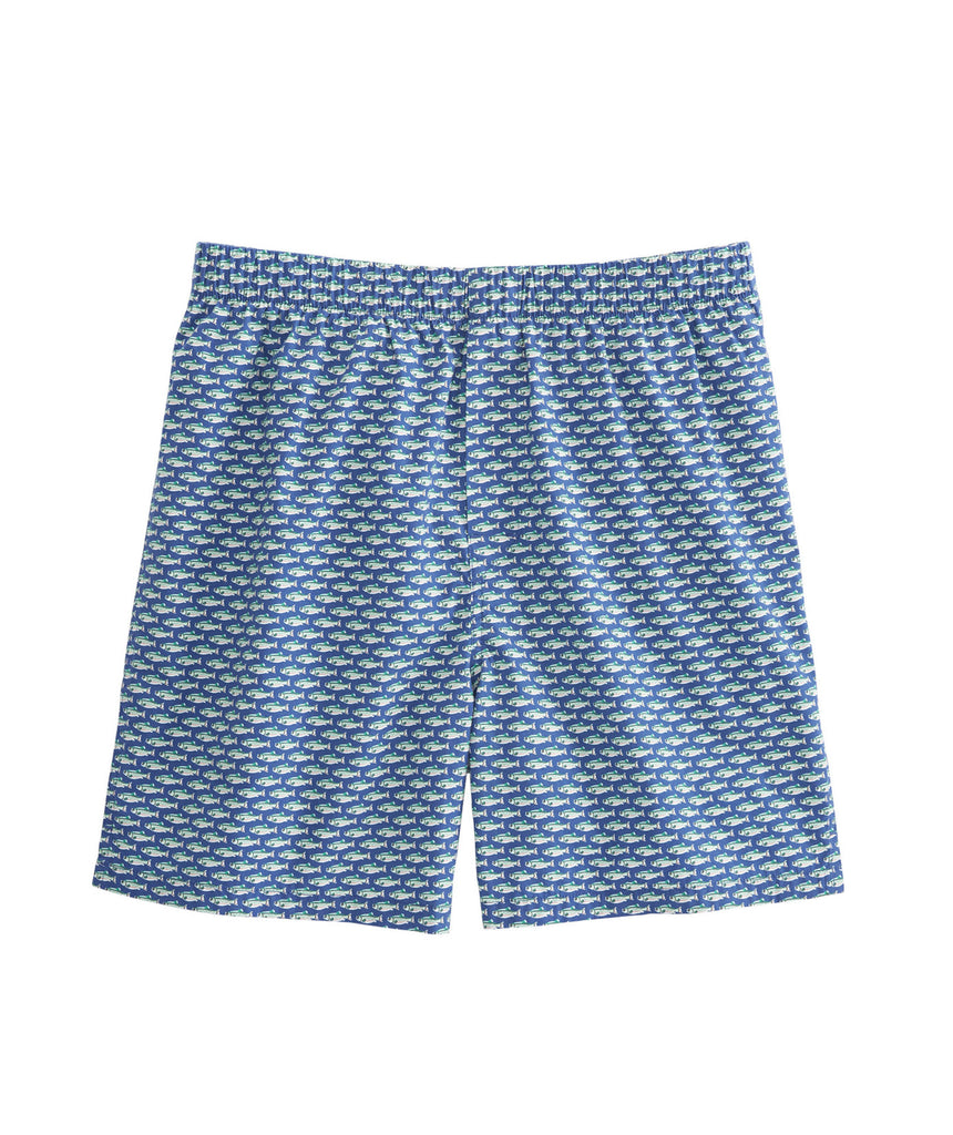 Vineyard Vines Brown Trout Boxer Shorts-Moonshine