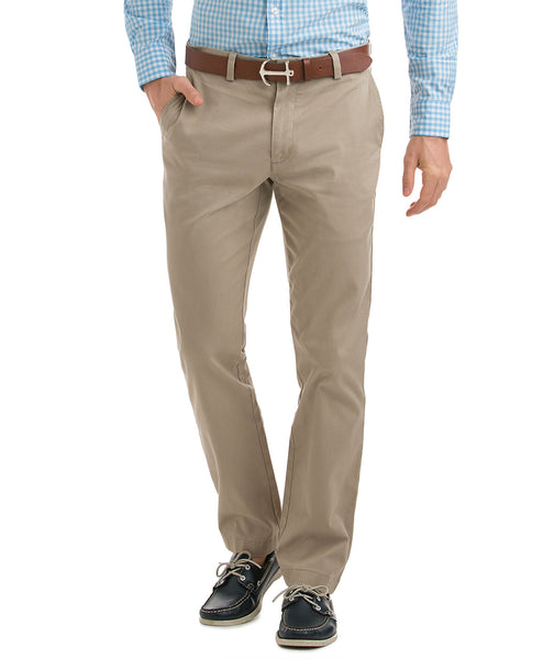 Vineyard Vines Mens Stretch Breaker Pants-Khaki