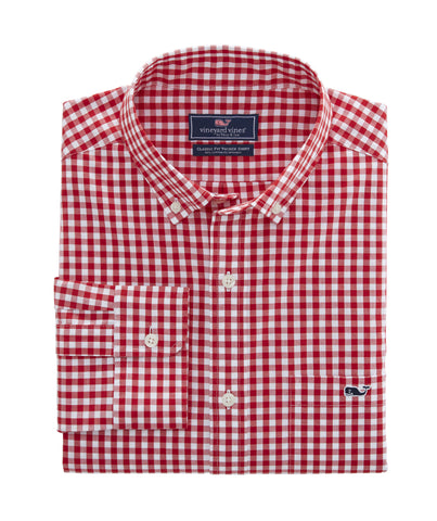 Vineyard Vines Carleton Gingham Button Down -Shop Bennetts Clothing for a large selection of the latest fashions from Vineyard Vines