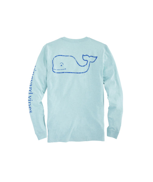 Vineyard Vines Vintage Whale Tee in Capri Blue -Shop Bennetts Clothing for the best in name brand menswear with same day shipping