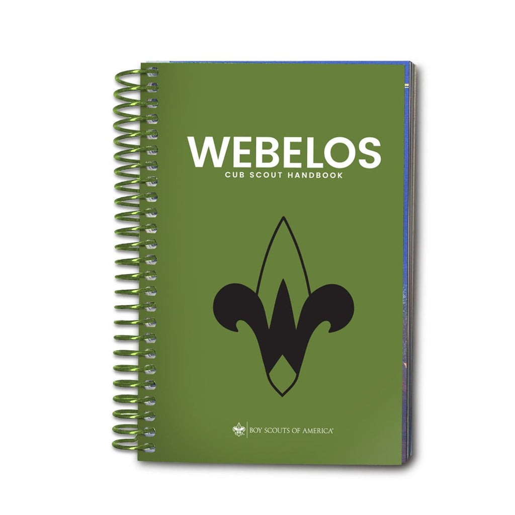 Coil Bound Webelos Handbook -Shop Bennetts Clothing for all your Scouting needs. BSA Authorized Retailer for over 35 years