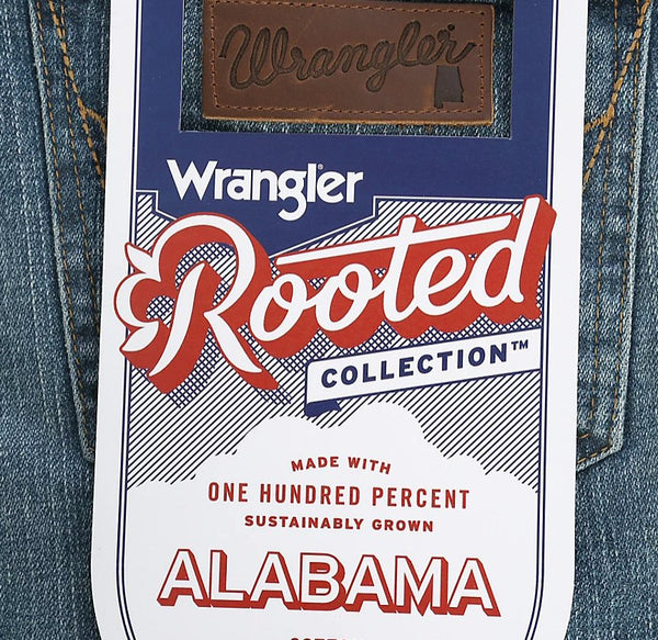 Wrangler Alabama Rooted Collection Slim Fit Jeans-Alabama Wash