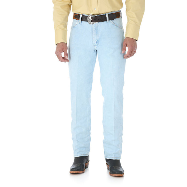 Wrangler Original Fit Cowboy Cut Jeans are as tough as the man wearing them. Shop Bennett's Clothing for the brands you want at the prices you will love and shipped same day for over 44 years.