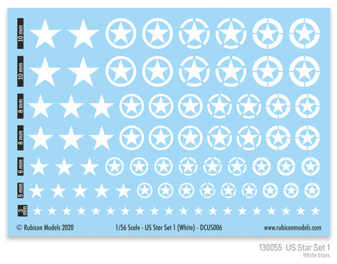~US Star Set 1 (White US Star)
