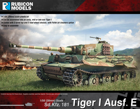 Tiger I Ausf E - Buy 2 Get 1 Free Bundle Special