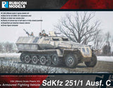 SdKfz 251/2 Ausf C with 8cm GrW34 Mortar: 280031+280043