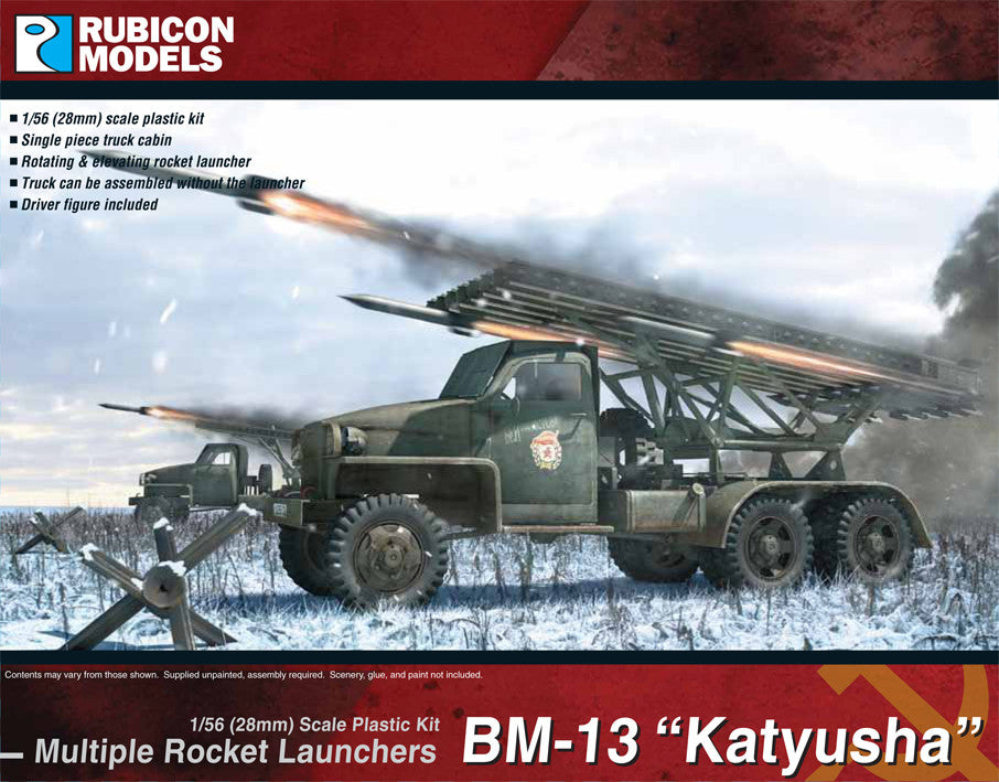 "BM-13N ""Katyusha"" Rocket Launcher- Buy 2 Get 1 Free Bundle Special"