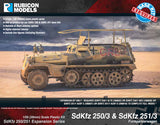 SdKfz 251/3 Ausf D Communication & Command: 280018+280039