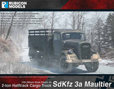 SdKfz 3a Opel Maultier with Box Body Bundle Special: 280046+280047