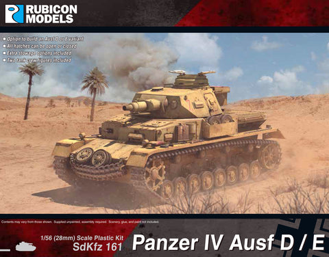 Panzer IV Ausf D/E- Buy 2 Get 1 Free Bundle Special