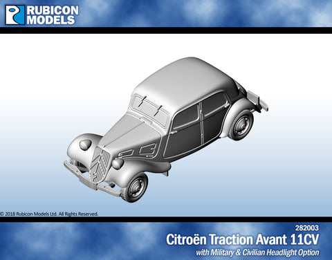 Citroën Traction Avant 11CV- Resin