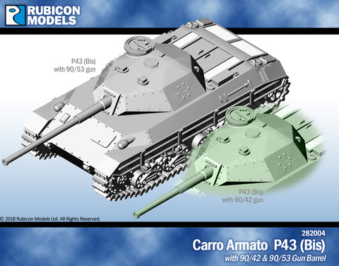 Carro Armato P43 (Bis)- Resin