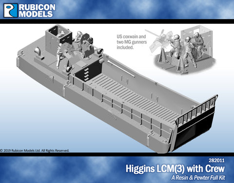 Higgins LCM(3) with Crew- Resin