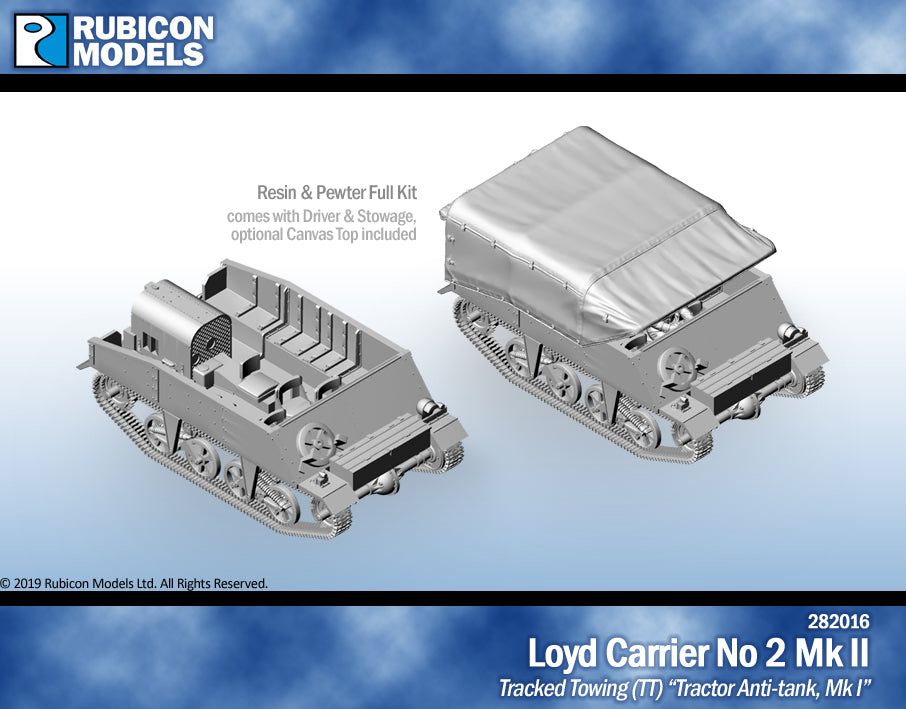 Loyd Carrier No 2 Mk II- Resin