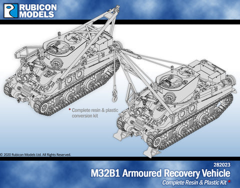 M32B1 Armoured Recovery Vehicle- Resin