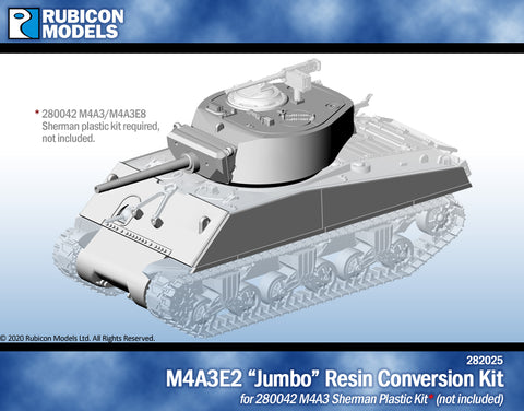 M4A3E2 Jumbo Conversion Kit- Resin