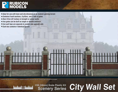 City Brick Wall Set