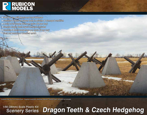 Dragon Teeth & Czech Hedgehog