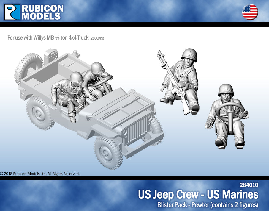US Jeep Crew - US Marine- Pewter