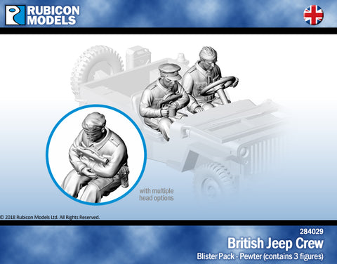 British Jeep Crew- Pewter