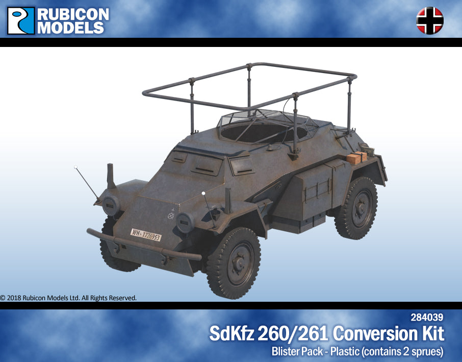 SdKfz 260/261 Conversion Kit