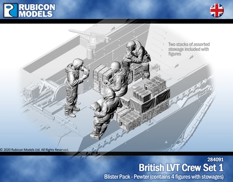 British LVT Crew Set 1- Pewter