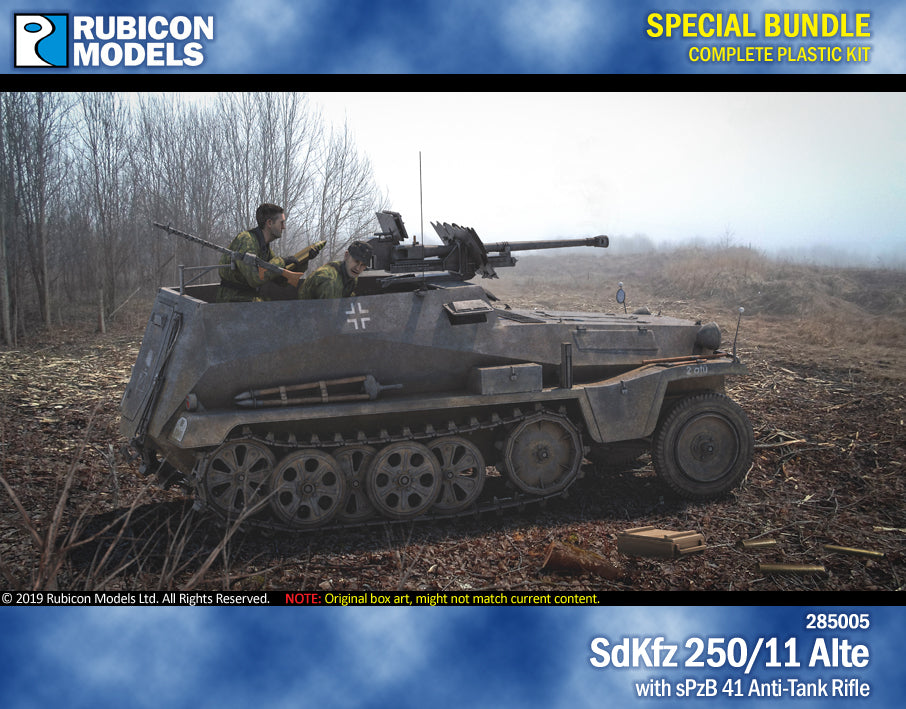 SdKfz 250/11 Alte with sPzB 41 AT Tank Rifle Bundle Special: 280032+280045