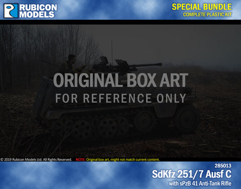 SdKfz 251/7 Ausf C with sPzB 41 AT Tank Rifle Bundle Special: 280031+280045