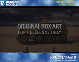 SdKfz 251/3 Ausf D Communication & Command Bundle Special: 280018+280039