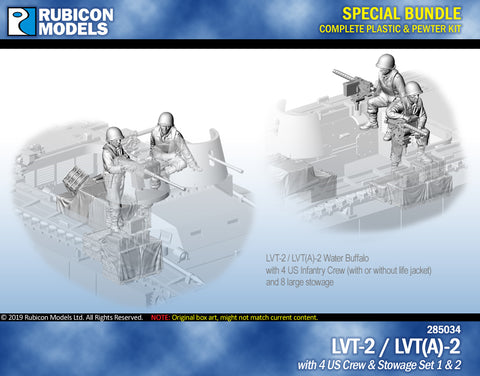 LVT-2 / LVT(A)-2 with US Crew & Stowage Set 1 & 2 Bundle Special: 280067+284054+284055