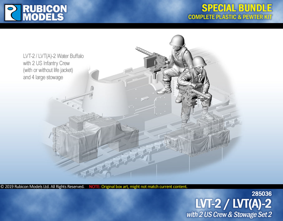 LVT-2 / LVT(A)-2 with US Crew & Stowage Set 2 Bundle Special: 280067+284055
