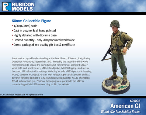 Rubicon 60mm WW II Limited Edition Pewter Collectible