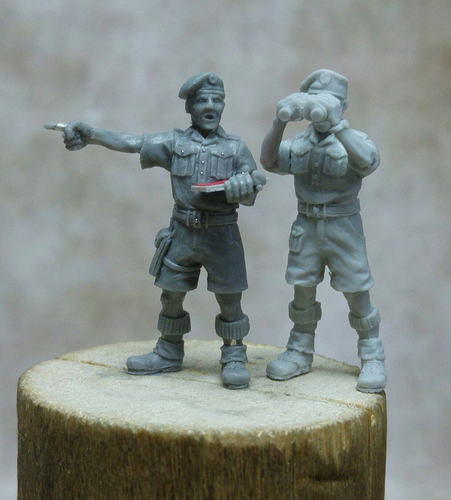 ~Heer46 British Officers with Shorts- Pewter