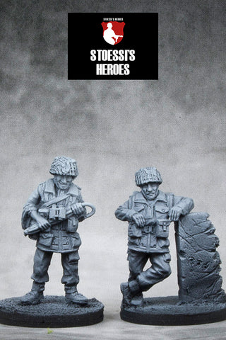 ~Stoessi's Heroes British Airborne- Lt. Col John Frost & Major Carlyle- Pewter