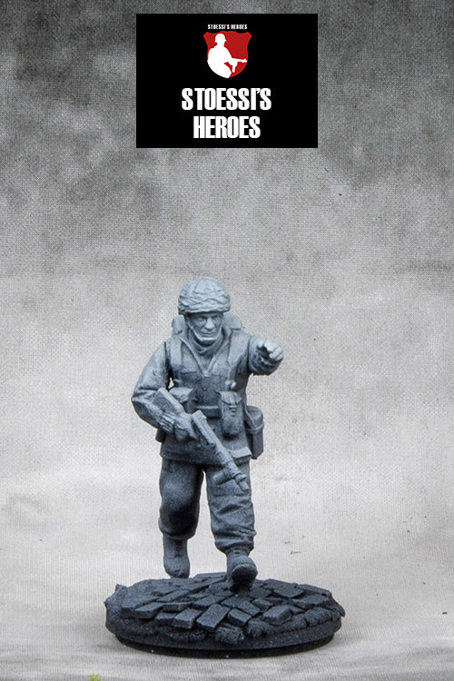 ~Stoessi's Heroes British Airborne Major - John Howard- Pewter