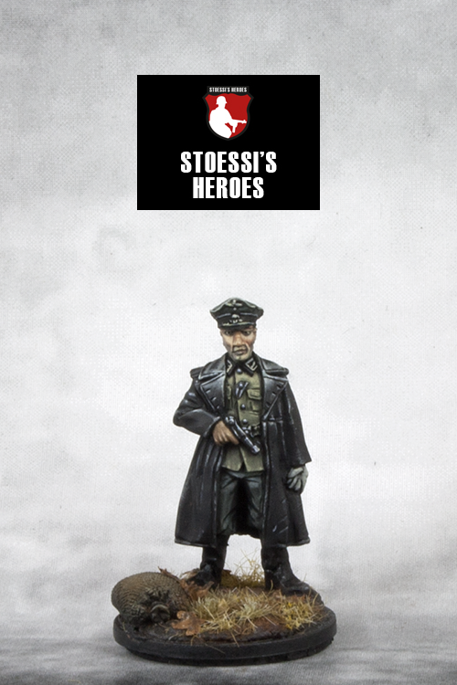 ~Stoessi's Heroes German Officer - Hans- Pewter