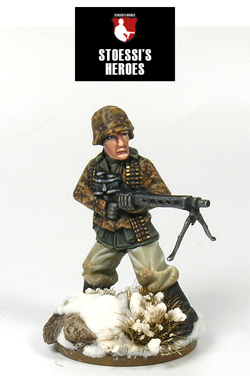 "~Stoessi's Heroes German Oberscharfuhrer- Fritz Christen ""Pak of Dubrowka""- Pewter"