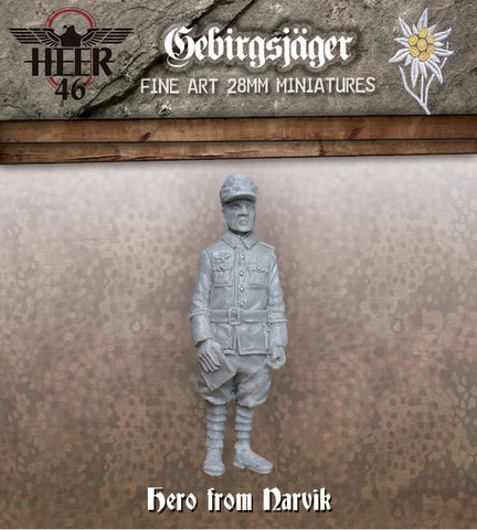 ~Heer46 Gebirgsjäger General- Pewter