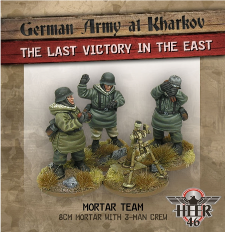 ~Heer46 Kharkov Mortar Team- Pewter